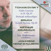 Arthur Grumiaux, New Philharmonia Orchestra, Jan Krenz, Heinz Wallberg: Tchaikovsky, Bruch: Violin Concerto, Sérénade mélancolique, Scottish Fantasy - SACD