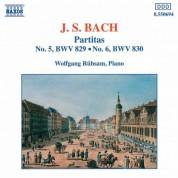 Wolfgang Rubsam: Bach: Partitas Nos. 5-6, Bwv 829-830 - CD