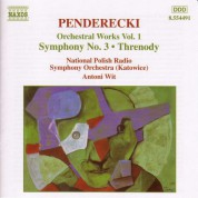 Antoni Wit: Penderecki: Symphony No. 3 / Threnody - CD