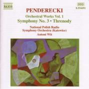 Antoni Wit: Penderecki: Symphony No. 3 / Threnody - CD