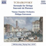 Philippe Entremont, Vienna Chamber Orchestra: Tchaikovsky: Serenade for Strings - Souvenir de Florence - CD