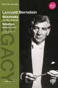 London Symphony Orchestra, Leonard Bernstein: Stravinsky/ Sibelius: The Rite Of Spring/ Sym. No. 5 - DVD
