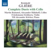 Alexander Hulshoff, Martin Rummel: Glière: Complete Duets with Cello - CD