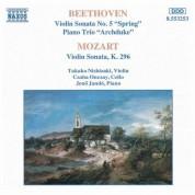 Beethoven / Mozart: Violin Sonatas / Piano Trio - CD