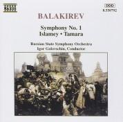 Russian State Symphony Orchestra, Igor Golovschin: Balakirev: Symphony No.1, Islamey, Tamara - CD