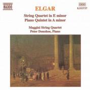 Maggini Quartet: Elgar: String Quartet in E Minor / Piano Quintet in A Minor - CD