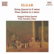 Maggini Quartet: Elgar: String Quartet in E Minor / Piano Quintet in A Minor - CD