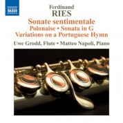 Uwe Grodd: Ries: Works for Flute and Piano - CD