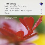 Bolshoi Symphony Orchestra, Alexander Lazarev: Tchaikovsky: Suites From The Nutcracker, Capriccio Italien, Waltzes & Polonaises from Eugen Onegin - CD