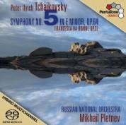 Mikhail Pletnev, Russian National Orchestra: Tchaikovsky: Symphony No. 5, Francesca da Rimini - SACD