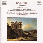 Salieri: Overtures - CD