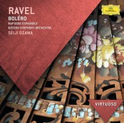 Boston Symphony Orchestra, Seiji Ozawa: Ravel: Boléro, Rapsodie Espagnole - CD