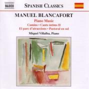 Miquel Villalba: Blancafort, M.: Piano Music, Vol. 3  - Camins / Cants Intims Ii / El Parc D'Atraccions /  Pastoral - CD