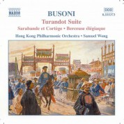 Samuel Wong: Busoni: Turandot Suite - 2 Studies for 'Doktor Faust' - CD