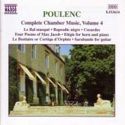 Poulenc: Bal Masque (Le) / Rapsodie Negre / Elegie - CD