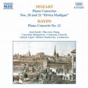 Mozart: Piano Concertos Nos. 20 and 21 / Haydn: Piano Concerto No. 11 - CD