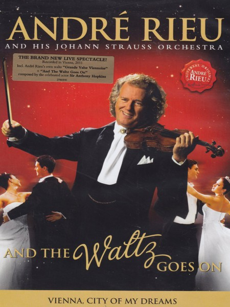 André Rieu: And The Waltz Goes On - DVD