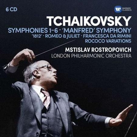 Mstislav Rostropovich: Tchaikovsky: Symphonies 1 - 6 - CD