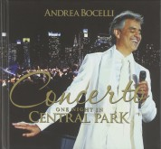 Andrea Bocelli - One Night in Central Park - CD