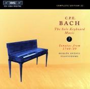 Miklós Spányi: C.P.E. Bach: Solo Keyboard Music, Vol. 7 - CD