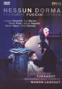 Çeşitli Sanatçılar: Favorite Puccini Operas: Nessun Dorma - DVD