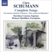 Dorothea Craxton: Schumann, C.: Songs (Complete) - CD
