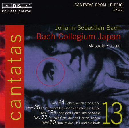 Bach Collegium Japan, Masaaki Suzuki: J.S. Bach: Cantatas, Vol. 13 (BWV 64, 25, 69a, 77, 50) - CD