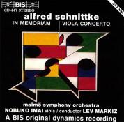 Nobuko Imai, Malmö SymfoniOrkester, Lev Markiz: Schnittke - In Memoriam and Viola Concerto - CD