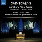 Orchestre National de Lyon, Leonard Slatkin, Vincent Warnier: Saint-Saëns: Works for Organ & Orchestra - CD