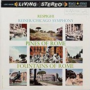 Chicago Symphony Orchestra, Fritz Reiner: Respighi: Pines Of Rome & Fountains Of Rome (200g-edition) - Plak