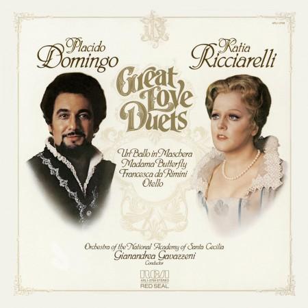Plácido Domingo, Katia Ricciarelli: Great Love Duets - CD