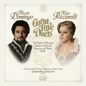Plácido Domingo, Katia Ricciarelli: Great Love Duets - CD