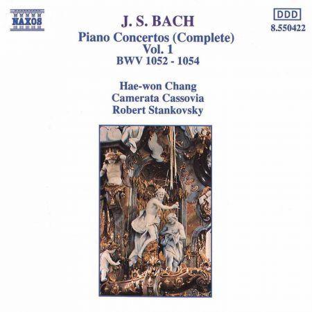 Bach, J.S.: Piano Concertos, Vol.  1 (Bwv 1052-1054) - CD