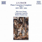 Bach, J.S.: Piano Concertos, Vol.  1 (Bwv 1052-1054) - CD