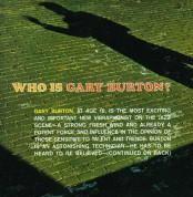 Gary Burton: Who Is Gary Burton? + Subtle Swing + 5 Bonus Tracks - CD
