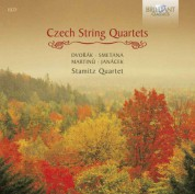 Stamitz Quartet: Czech String Quartets (Dvorák, Janacek, Smetana, Martinu) - CD