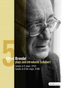Alfred Brendel: Schubert: Late Piano Works Vol.V - Sonatas, D. 959 and D. 960 - DVD