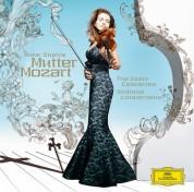 Anne-Sophie Mutter, London Philharmonic Orchestra, Yuri Bashmet: Mozart: The Violin Concertos - CD