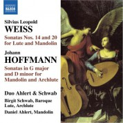 Duo Ahlert and Schwab: Weiss: Lute Sonatas Nos. 14 & 20 / Hoffman: Mandolin Sonata in G Major / Mandolin Sonata in D Minor - CD