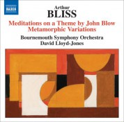 David Lloyd-Jones: Bliss: Meditations on a Theme by John Blow - Metamorphic Variations - CD