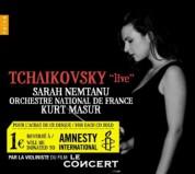 """Sarah Nemtanu: Tchaikovsky """"live"""" - CD"""