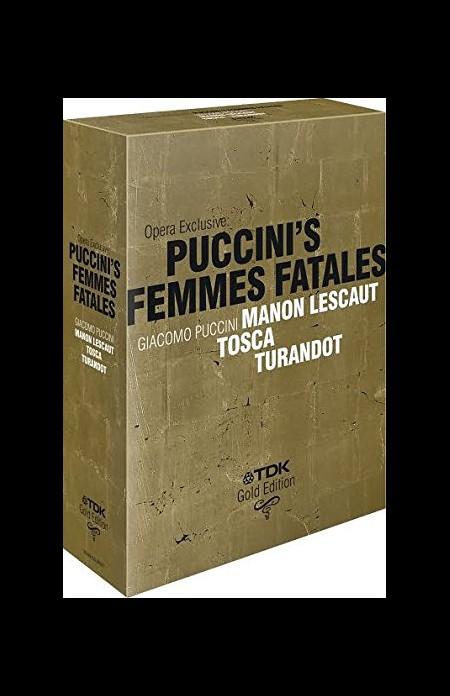 Çeşitli Sanatçılar: Puccini's Femmes Fatales - DVD
