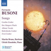 Martin Bruns: Busoni: Songs - CD