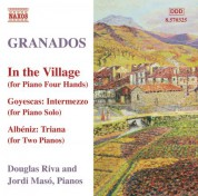 Douglas Riva: Granados, E.: Piano Music, Vol. 10 - In the Village - CD