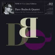 Dave Brubeck Quartet: NDR 60 Years Jazz Edition (DB) - Plak