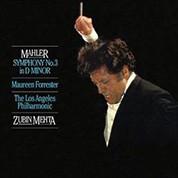 Los Angeles Philharmonic Orchestra, Zubin Mehta: Mahler: Symphony No. 3 (200g-edition) - Plak