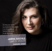 Janina Baechle, Charles Spencer: Chansons Grises - CD