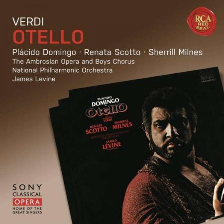 Plácido Domingo, Renata Scotto, Sherrill Milnes, James Levine, National Philharmonic Orchestra: Verdi: Otello - CD