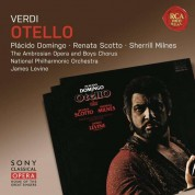 Plácido Domingo, Renata Scotto, Sherrill Milnes, James Levine, National Philharmonic Orchestra: Verdi: Otello - CD