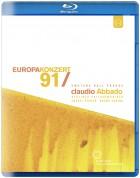 Bruno Canino, Cheryl Studer, Berliner Philharmoniker, Claudio Abbado: Europakonzert 1991 - BluRay